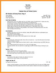 Lyx Resume Template Employment History In Resume Resume Ideas