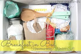 breakfast baskets breakfast in bed housewarming hostess gift idea smashed peas