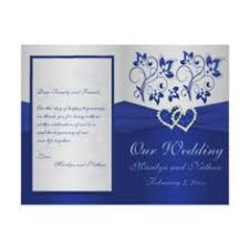 wedding invitations royal blue royal blue and silver wedding invitations reduxsquad