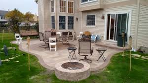 belgard fire pit gas fire pit with fire glass by archadeck of chicagoland