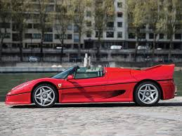 ferrari side ferrari f50 side view sports cars europa pinterest