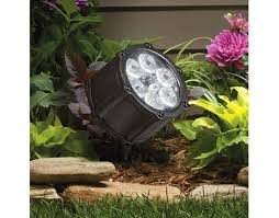12 volt led 60 degree accent light textured black
