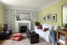 living room accent walls comfy u shaped sofa modern white sofa