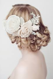 hair accessories for weddings enchanting floral hair accessories for your wedding