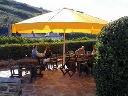 patio 14 large cantilever patio umbrella with brown umbrella