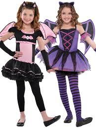 girls ballerina bat tutu halloween costume age 3 10 fancy dress