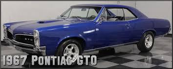 1967 pontiac gto factory paint colors