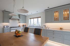 light grey shaker kitchen design by herbert william kitchen hampshire