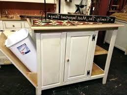 kitchen island with trash bin kitchen island diy pull out trashcan ikea trash can slider trash
