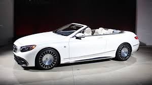 mercedes maybach 2016 mercedes maybach s650 cabriolet is a luxed up limited edition s65