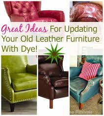 Furniture Leather Sofa House Revivals How To Dye A Leather Sofa Or Chair