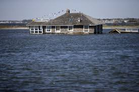 mantoloking new jersey house an iconic image of hurricane sandy
