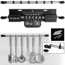barre magn騁ique cuisine support barre pour ustensiles de cuisine achat vente pas cher