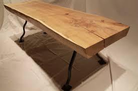Oak Slab Table by Filliqvist Stout Oak Coffee Table