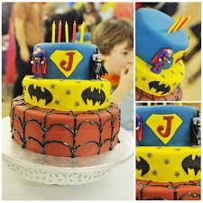 cakes by trina superhero cake
