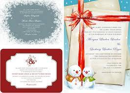 Christmas Wedding Invitations Christmas Wedding Invitations Archives Happyinvitation Com