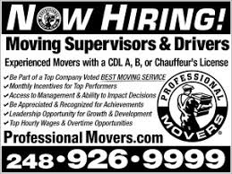 Hiring Movers Professional Movers Com Michigan Movers You Can Depend On