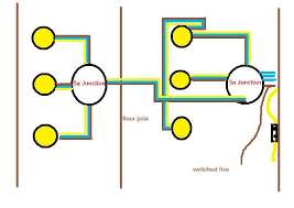 wiring up 6 x 240v 50w spotlights diynot forums