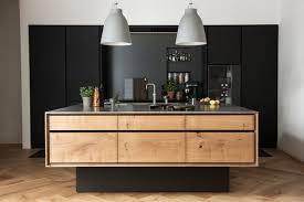 cuisine noir et une cuisine en noir bois frenchy fancy