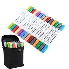 finecolour set of 36 colors artist double headed markers set water