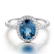blue topaz engagement rings leige jewelry blue topaz engagement ring sterling silver