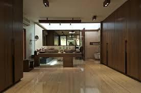 interior courtyard house design by hiren patel architects