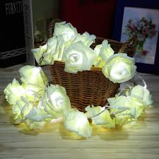 Rose Lights String by Flower String Decoration Flower String Decoration Suppliers And