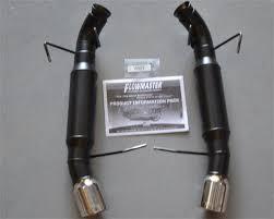 magnaflow vs flowmaster mustang mustang axle back exhaust comparison 11 14 5 0l lmr