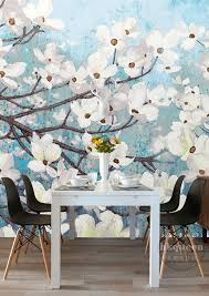 aliexpress com buy elegant 3d wallpaper magnolia wall murals aliexpress com buy elegant 3d wallpaper magnolia wall murals custom oil painting photo wallpaper bedroom hotel shop tv backdrop designer room decor from