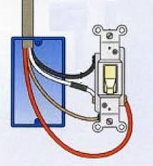 where to connect the wire to a light switch the silicon