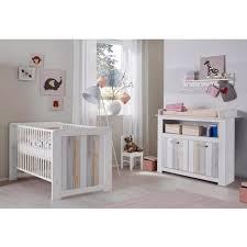 ensemble chambre bebe ensemble chambre bébé 2 pièces avec lit 70x140 cm et commode à