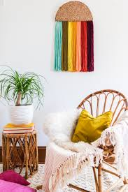 Beautiful Art Pictures by Easy Yarn Wall Art Diy U2013 A Beautiful Mess