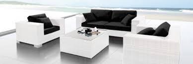 canapé de jardin design mobiliers de jardin le du design extérieur mobiliers de