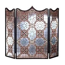 Decorative Screens Glass Screens Fireplace Decorative Screen Stained Patterns Canada