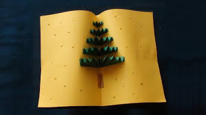 how to make christmas 3d card christmas 3d greeting card with