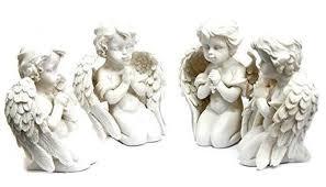 Angel Home Decor 4 Loves Child Angel Cupid Home Decor Cherub Statue Baby Sculpture