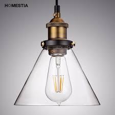 vintage warehouse lighting fixtures retro american country industrial metal glass loft pendant l
