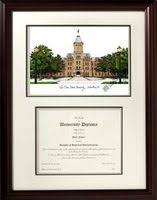 ohio state diploma frame ohio state diploma framing and osu graduation