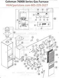 7680b856 coleman gas furnace parts u2013 hvacpartstore