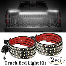 go lights for trucks led truck bed lights 2pcs 60inch truck bed led strip light kit