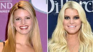 jessica simpson nudw jessica simpson is trying a new beauty trend see her fiery look