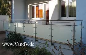 edelstahl balkon mit glas v v distribution edelstahl nach maß balkon und terrassen