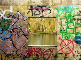 free images landscape water architecture lake building walk color park colorful graffiti painting street art creativity design pavilion mural germany border masonry freiburg rainy day modern art