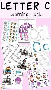 letter c worksheets and printables pack letter c letter c
