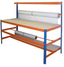 Arbeitstisch Profi Verpackungsstation 1 Bxt 180x70 Cm Packtisch Werktisch