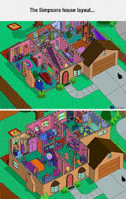 simpsons house floor plan the simpsons house layout inc rarely seen rumpus room