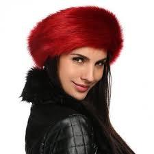 ear warmer headband zeogoo women fashion winter faux fur russian cossack style