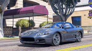 pink mitsubishi 3000gt 1999 mitsubishi 3000 gt add on replace gta5 mods com
