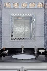Bathroom Vanity Light Fixtures Chic Crystal Bathroom Vanity Light Fixtures 20 Radiant Designs Of