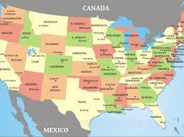 list of us states america map with abbreviations wall hd 2018